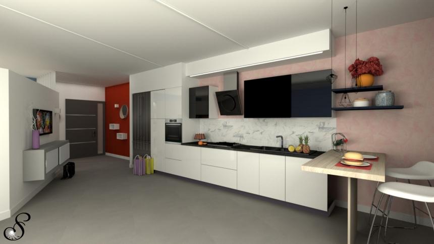 progetta-la-cucina-colore-in-cucina-arte in casa